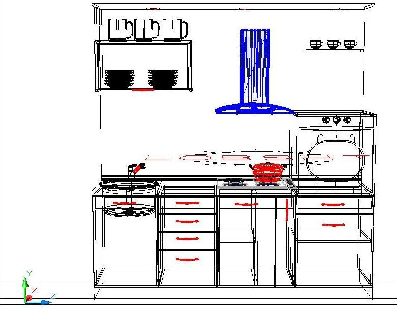 На проекта на кухня стъпка по стъпка